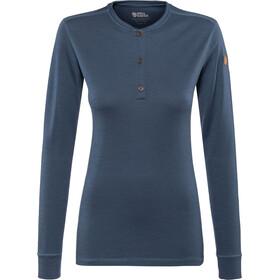 Fjällräven Lappland Merino - T-shirt manches longues Femme - bleu